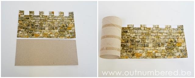 Knutselen met kleuters - kasteel knutselen van karton