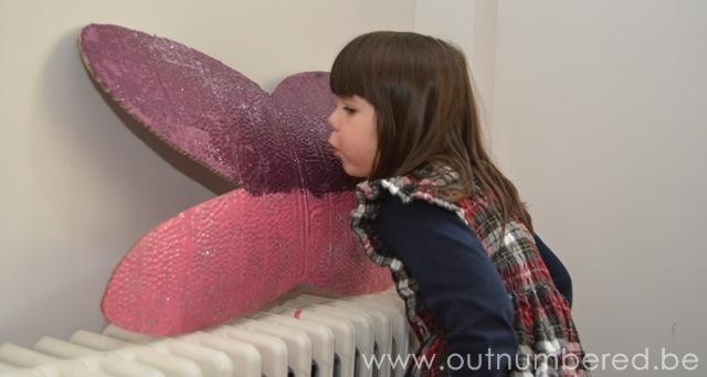 creatief knutselen met kinderen - fee vleugels van karton