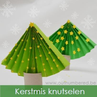 Maak Je Eigen Papieren Kerstboom Eenvoudig Knutselen